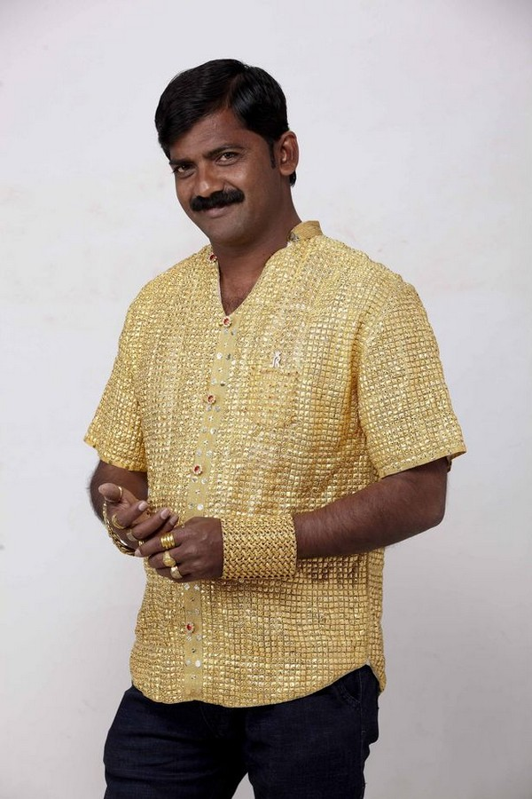 Datta Phuge solid gold shirt