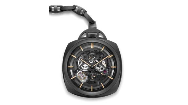 Panerai  Pocket Watch Tourbillon GMT Ceramica