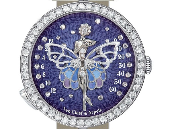 Van Cleef Arpels  Ballerine Enchatee Poetic Complication