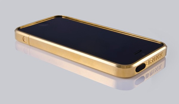 Brikk Solid Gold iPhone 5 Case