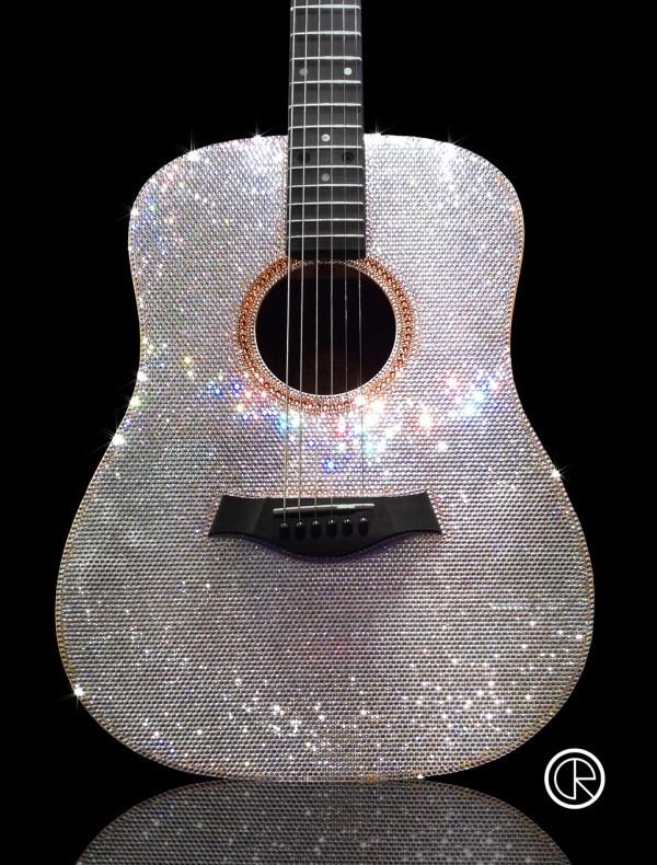 Guitars Crystal Rrocked