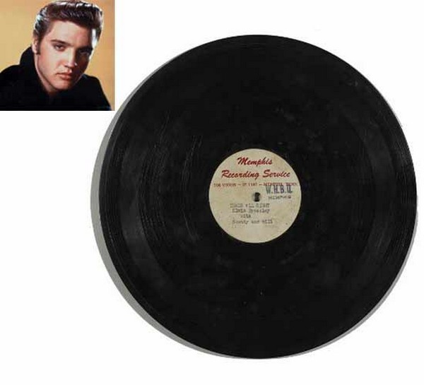 Elvis Presleys Tthats all righ record