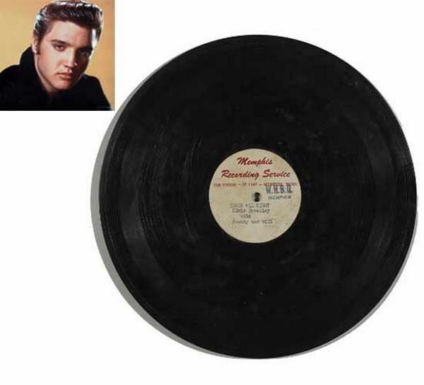 Elvis Presleys Tthats all righ record