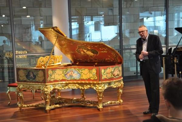 Golden Grand Piano