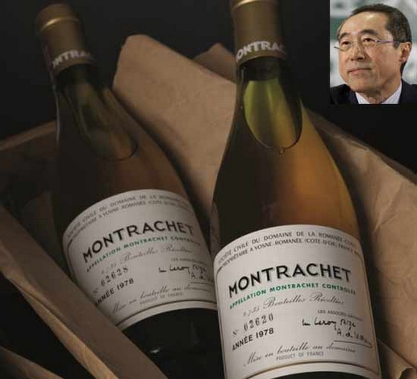 Henry Tang wine collection