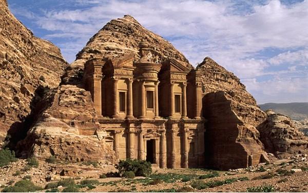 Al Dier monastery of Petra