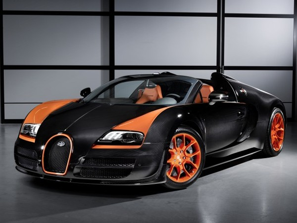 Bugatti Veyron 164 Grand Sport Vitesse World Record Car