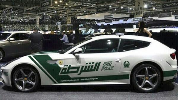Ferrari FF  Dubai Polish1