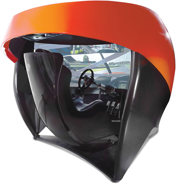 Full Immersion Professional Racer Simulator