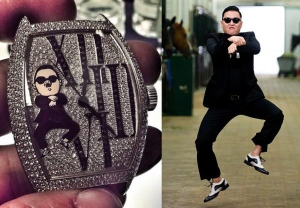 Gangnam style watch