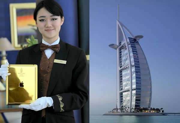 Burj Al Arab Gold iPad
