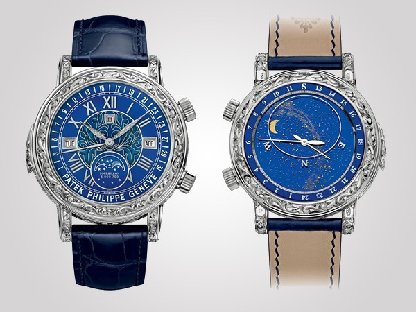 Patek Philippe Sky Moon Tourbillon Reference 6002G