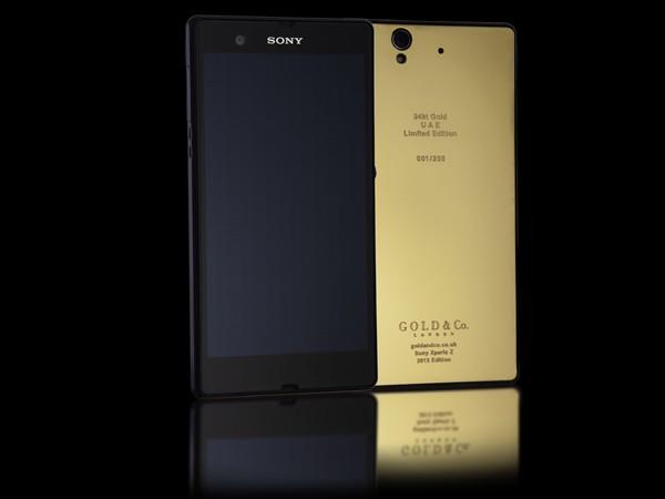 Gold Sony Xperia Z