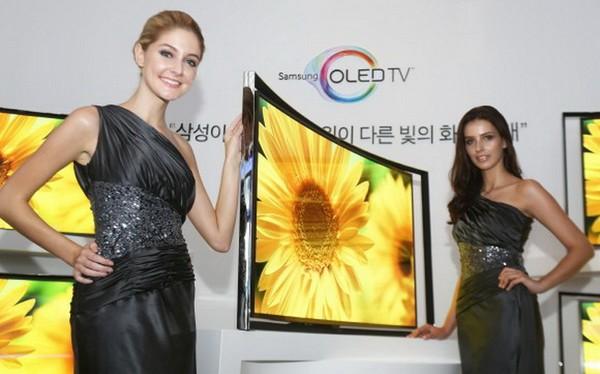 Samung Curved OLED TV