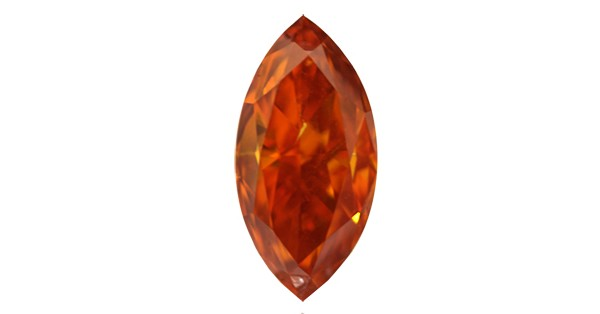 Fancy Deep Orange Diamond