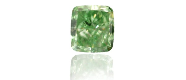 Fancy Vivid Yellow Emerald