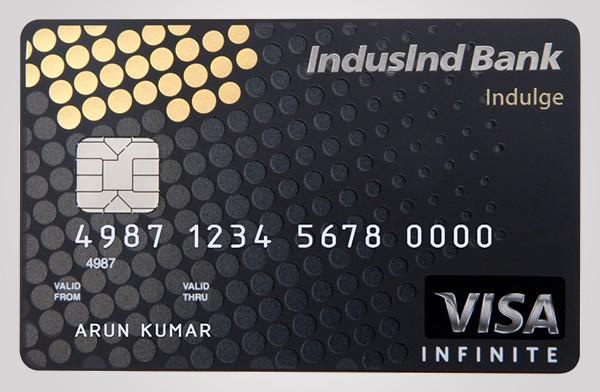 IndusInd Bank Indulge Card