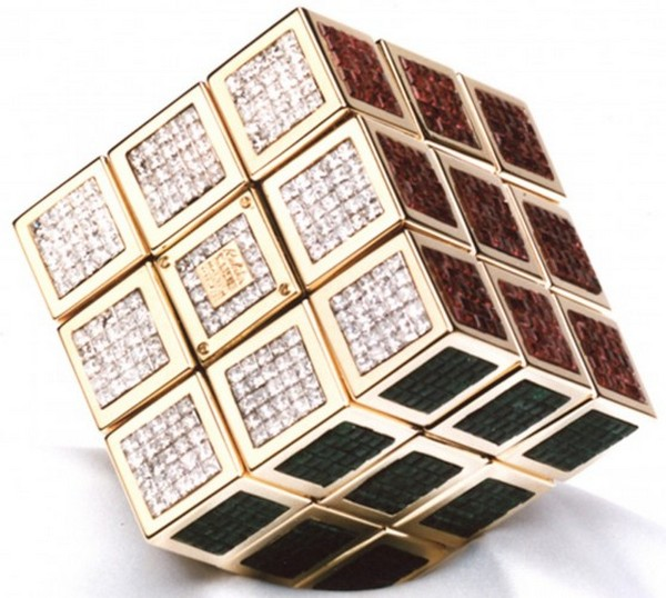 Most Expensive Rubik Cube
