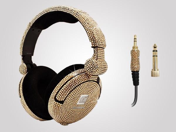 iWave Crystal Headphones with Swarovski Elements