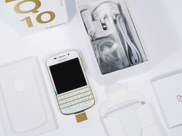 Gold BlackBerry Q10