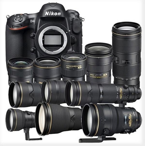 Nikon Chivalrous Nanocrystals Complete Set