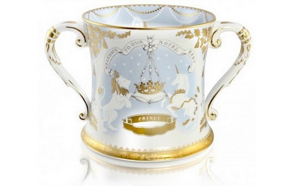 Royal Baby Commemorative Limited Edition Loving Cup