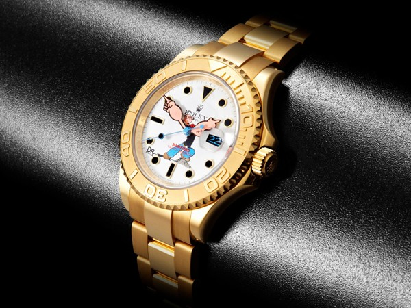 Special Edition Popeye Rolex Yachtmaster