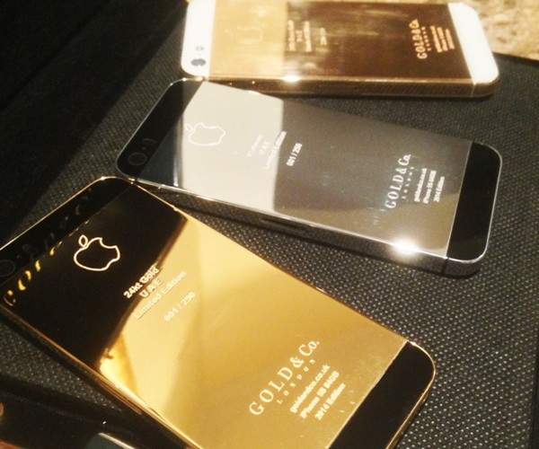 Gold and Co iPhone 5s