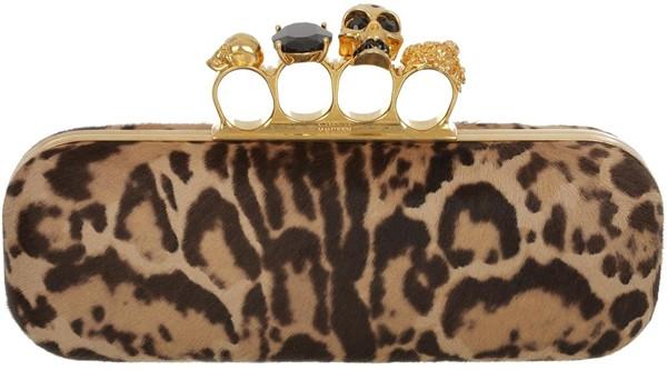 Leopard Pony Knucklebox Clutch