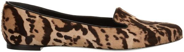 Leopard Pony Slipper