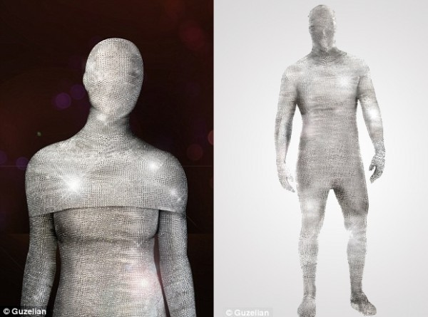 Diamond covered morphsuit