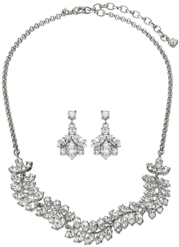Ivy Drop Earrings & Necklace