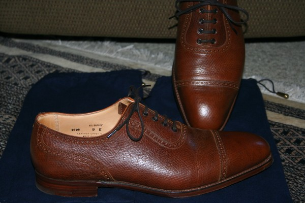 New & Lingwood The Russian Calf Shoes