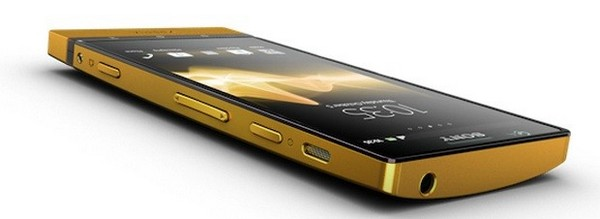 Sony Xperia P Gold