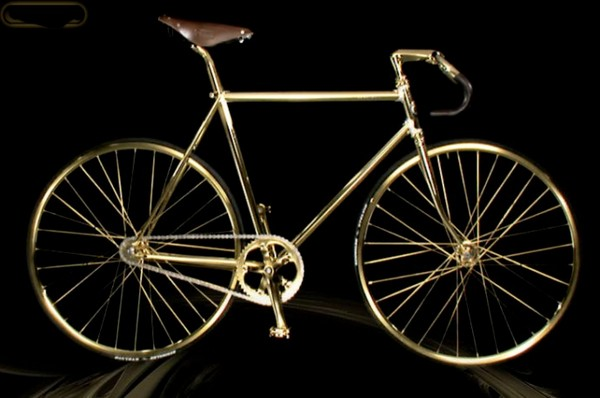 Aurumania – Crystal Edition gold Bike