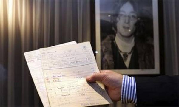 John Lennon documents