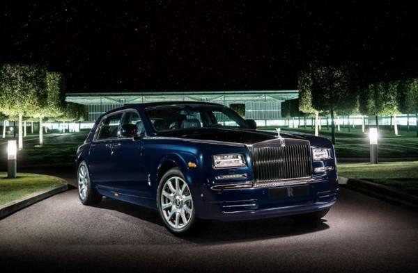 Rolls-Royce  Phantom diamond