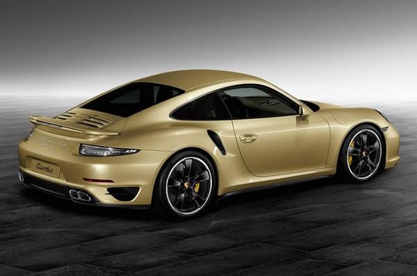 Gold Porsche 911 1