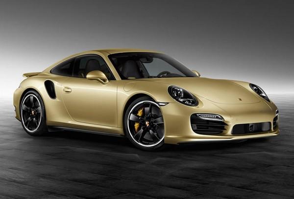 Gold Porsche 911