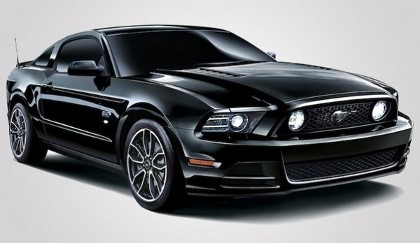 Mustang V8 GT Coupe the Black