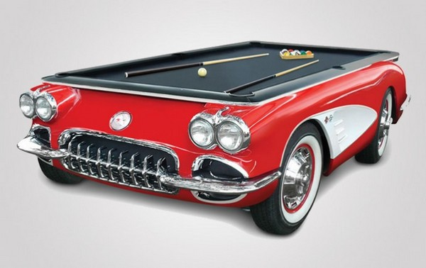 Corvette Billiards Table