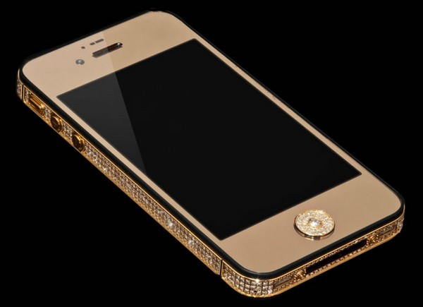 Million Dollar Gold and Diamond iPhone