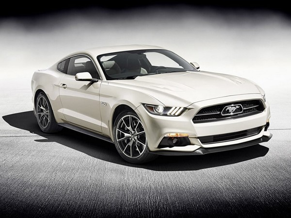 50th Anniversary Edition 2015 Mustang