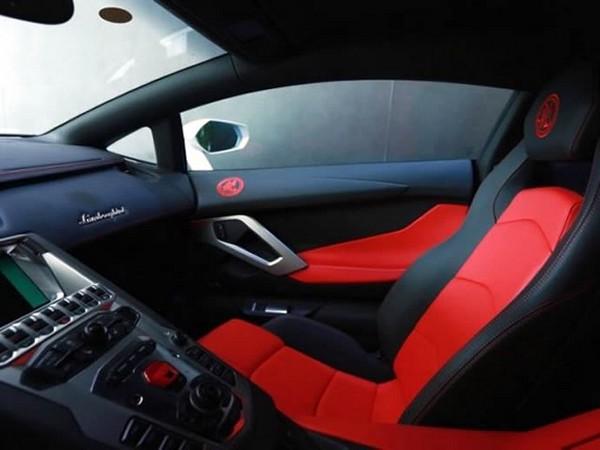 Lamborghini Aventador Jackie Chan Edition1