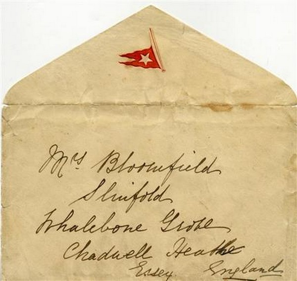 Letter Titanic