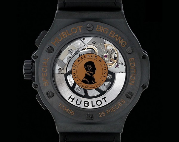 Hublot Big Bang Aero Johnnie Walker1