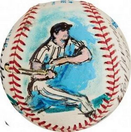 LeRoy Neiman baseballs1
