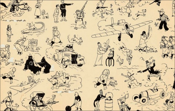 Tintin Auction