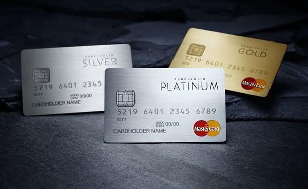 Pure + Solid Prepaid MasterCard