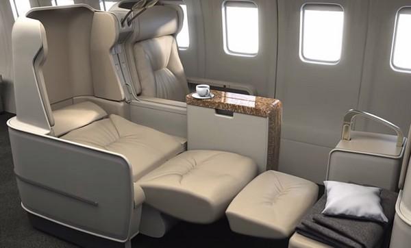 Abercrombie  Kent lie flat seats